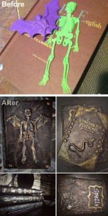 Creepy But Creative DIY Halloween Outdoor Decoration Ideas 37