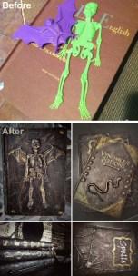 Creepy But Creative DIY Halloween Outdoor Decoration Ideas 37