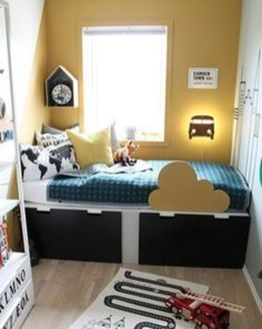 Cute Boys Bedroom Design Ideas For Small Space 07
