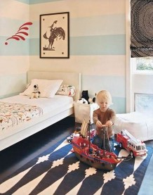 Cute Boys Bedroom Design Ideas For Small Space 25