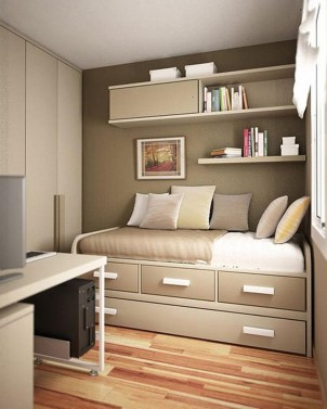 Cute Boys Bedroom Design Ideas For Small Space 27