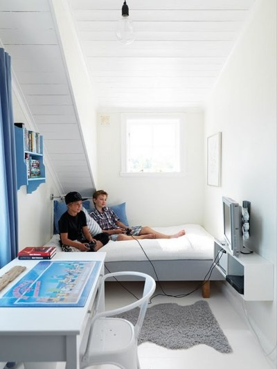 Cute Boys Bedroom Design Ideas For Small Space 30