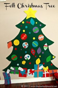 Cute Christmas Decoration Ideas Your Kids Will Totally Love 01