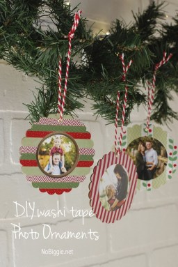 Easy And Creative DIY Photo Christmas Ornaments Ideas 06