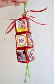 Easy And Creative DIY Photo Christmas Ornaments Ideas 12