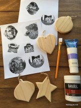 Easy And Creative DIY Photo Christmas Ornaments Ideas 14