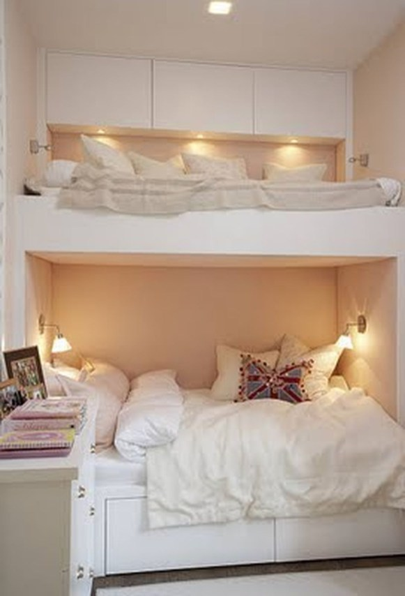 Elegant Teenage Girls Bedroom Decoration Ideas 24