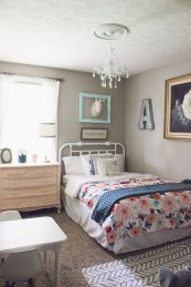 Elegant Teenage Girls Bedroom Decoration Ideas 30