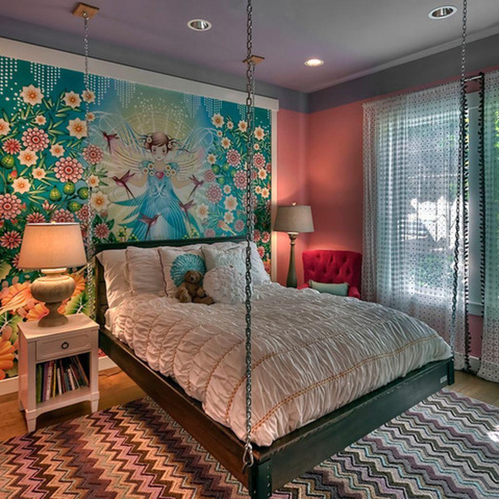 Elegant Teenage Girls Bedroom Decoration Ideas 31