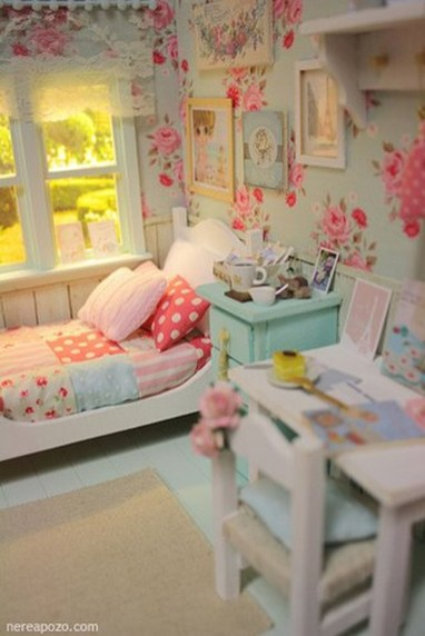 Elegant Teenage Girls Bedroom Decoration Ideas 35