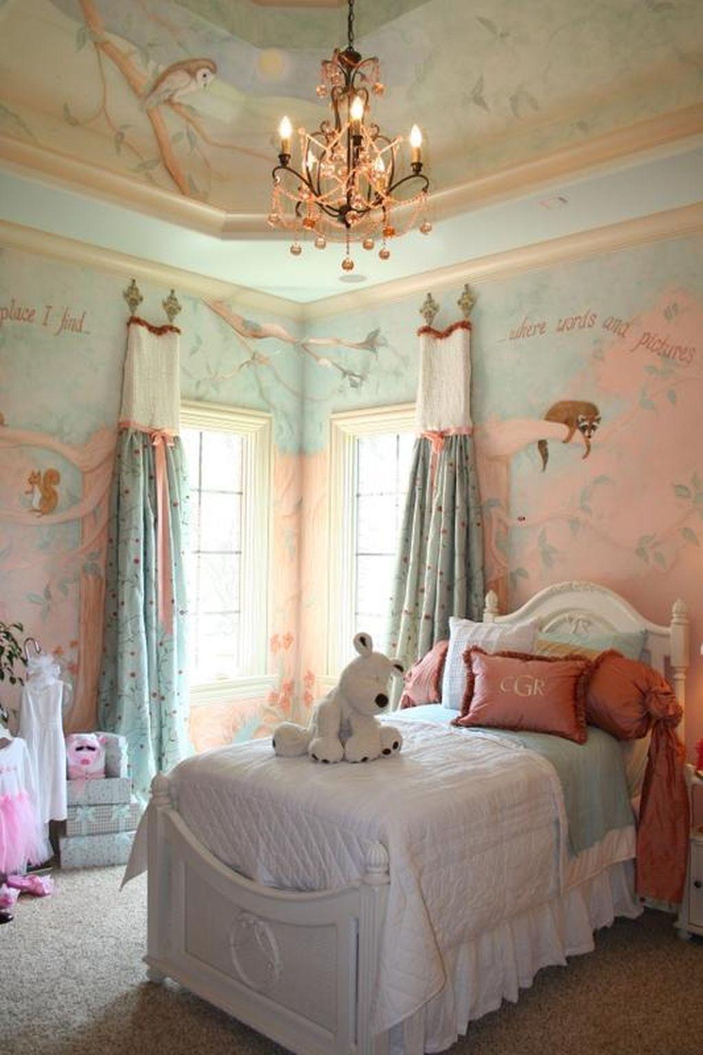 Elegant Teenage Girls Bedroom Decoration Ideas 85
