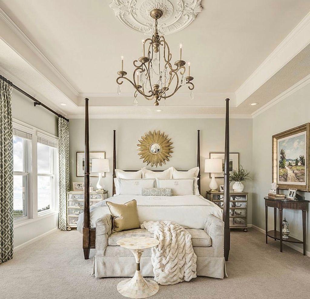Gorgeous Vintage Master Bedroom Decoration Ideas 10