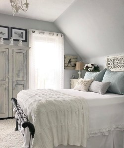 Gorgeous Vintage Master Bedroom Decoration Ideas 29