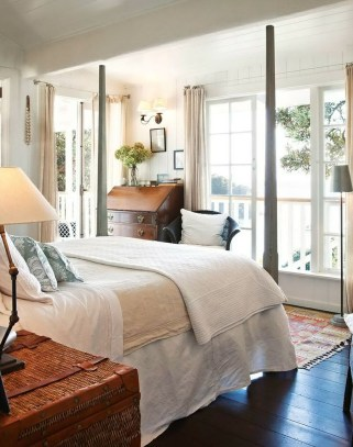 Gorgeous Vintage Master Bedroom Decoration Ideas 33