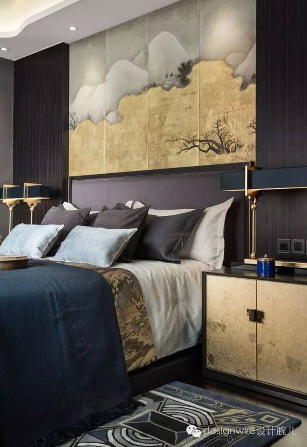 Gorgeous Vintage Master Bedroom Decoration Ideas 49