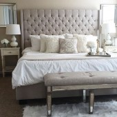 Gorgeous Vintage Master Bedroom Decoration Ideas 66