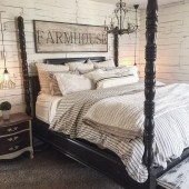 Gorgeous Vintage Master Bedroom Decoration Ideas 67