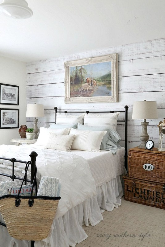 99 Gorgeous Vintage Master Bedroom Decoration Ideas ...