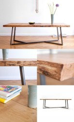 Incredible Industrial Farmhouse Coffee Table Ideas 06