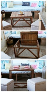 Incredible Industrial Farmhouse Coffee Table Ideas 22