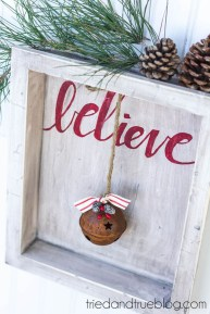 Incredible Rustic Farmhouse Christmas Decoration Ideas 18