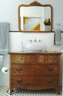 Inspiring Rustic Bathroom Vanity Remodel Ideas 03