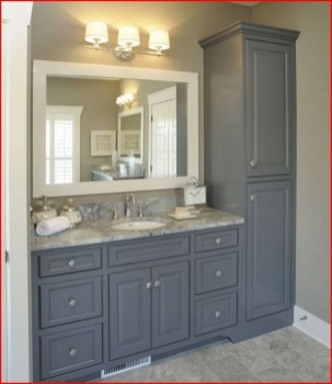 Inspiring Rustic Bathroom Vanity Remodel Ideas 08