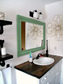 Inspiring Rustic Bathroom Vanity Remodel Ideas 12