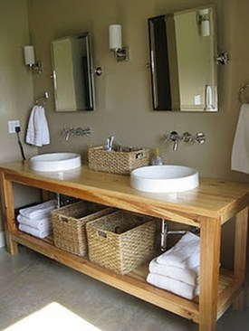 Inspiring Rustic Bathroom Vanity Remodel Ideas 17