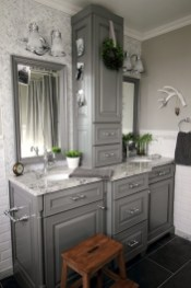 Inspiring Rustic Bathroom Vanity Remodel Ideas 28
