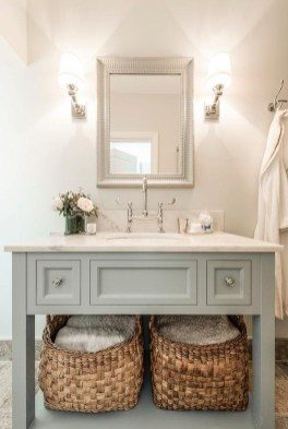 Inspiring Rustic Bathroom Vanity Remodel Ideas 44