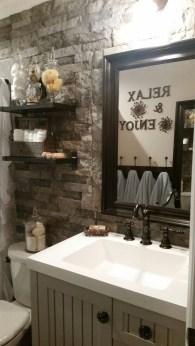 Inspiring Rustic Bathroom Vanity Remodel Ideas 47