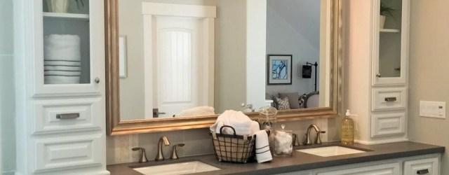 Inspiring Rustic Bathroom Vanity Remodel Ideas 52
