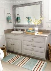 Inspiring Rustic Bathroom Vanity Remodel Ideas 56