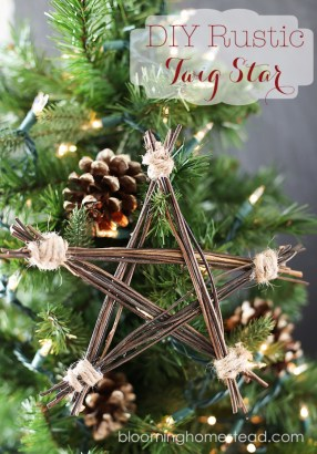 Inspiring Rustic Christmas Tree Decoration Ideas For Cheerful Day 07