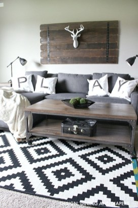 Modern Industrial Farmhouse Decoration Ideas 26