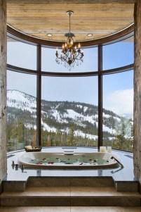 Romantic And Elegant Bathroom Design Ideas With Chandeliers 11