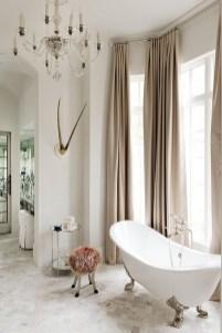 Romantic And Elegant Bathroom Design Ideas With Chandeliers 13