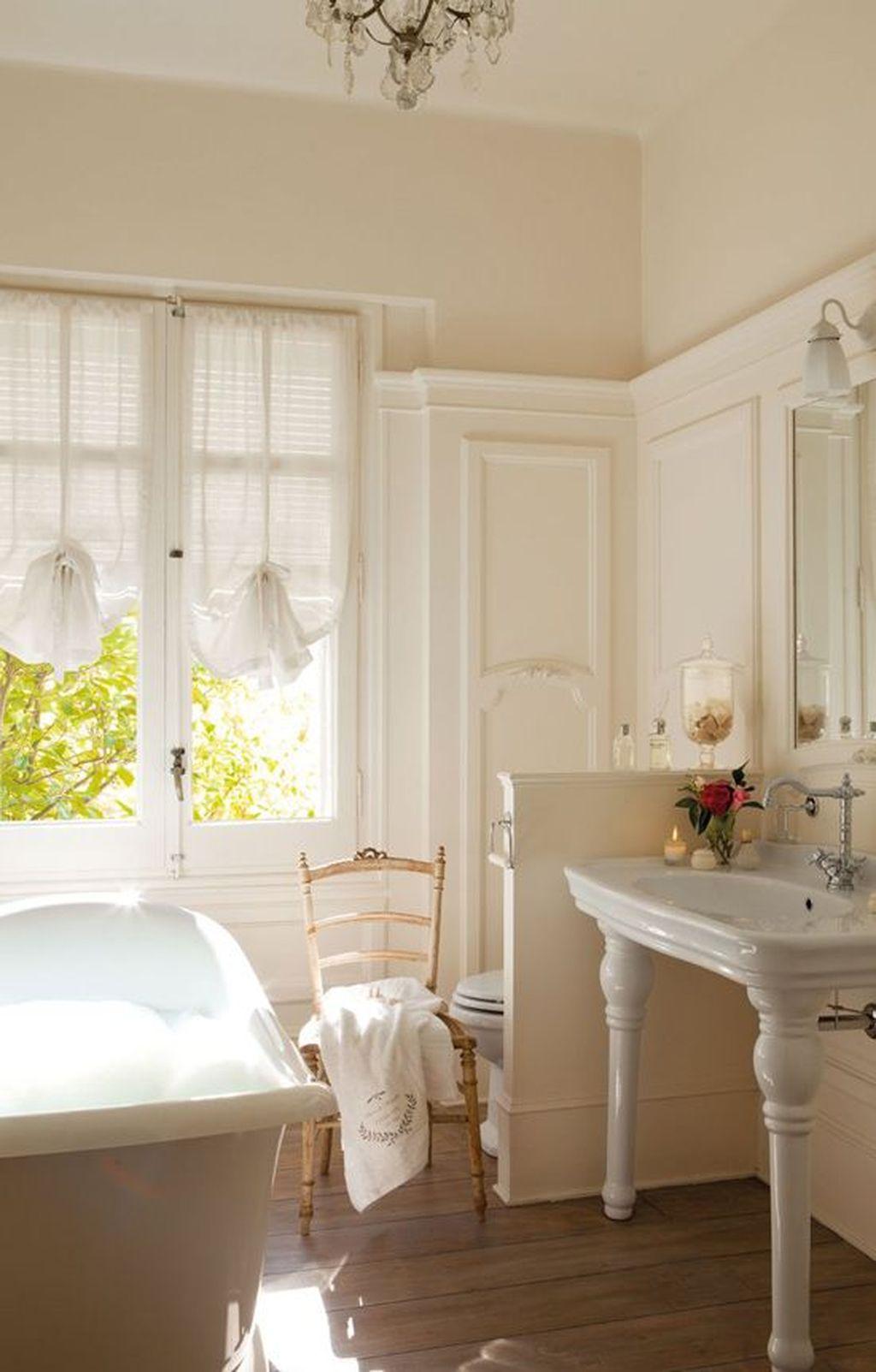 Romantic And Elegant Bathroom Design Ideas With Chandeliers 77 Homedecorish