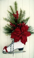 Simple But Beautiful Front Door Christmas Decoration Ideas 83