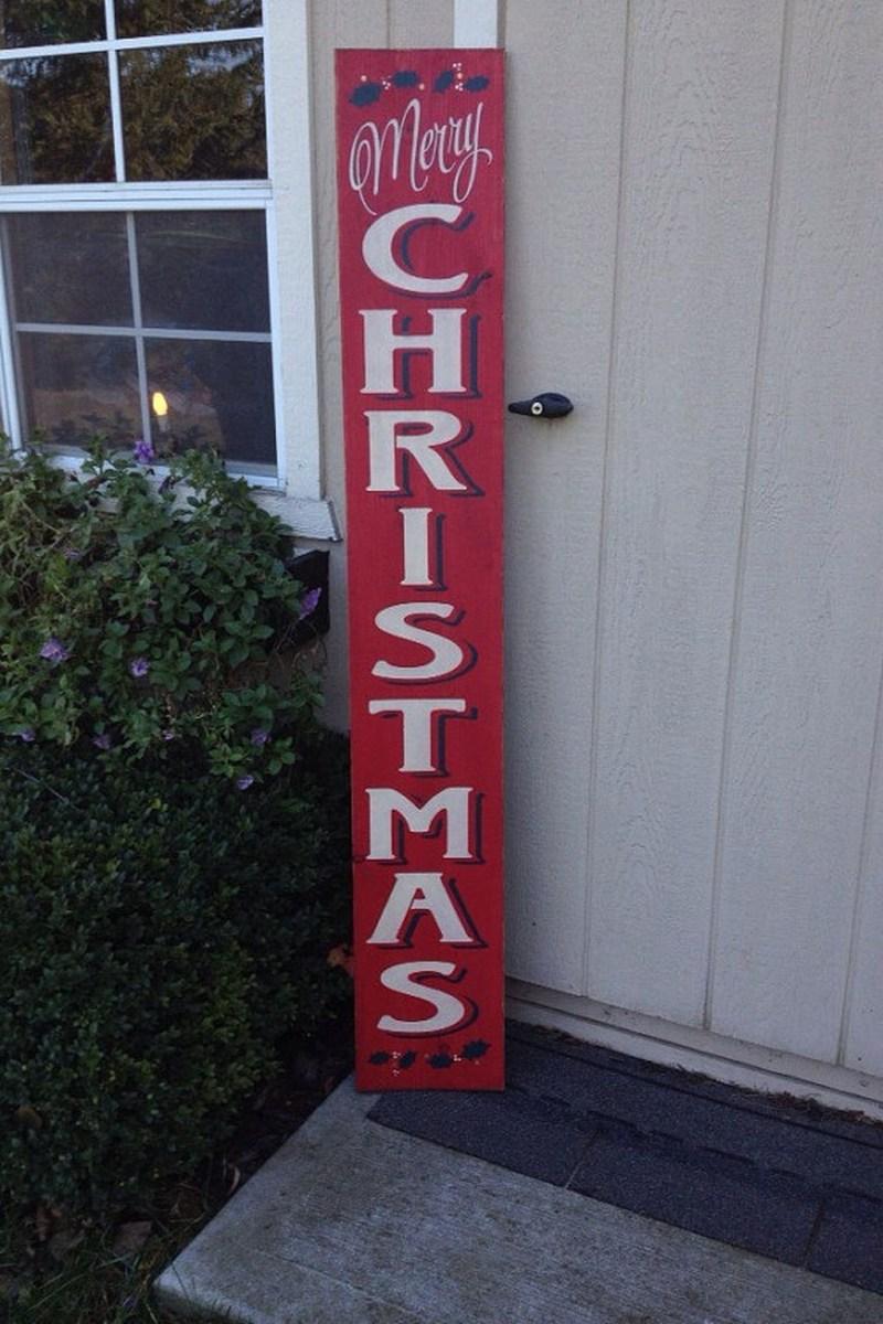 Totally Inspiring Christmas Porch Decoration Ideas 52