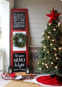 Totally Inspiring Christmas Porch Decoration Ideas 74