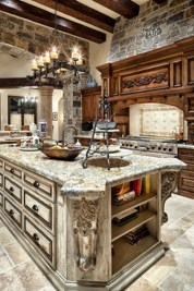 Totally Outstanding Traditional Kitchen Decoration Ideas 01