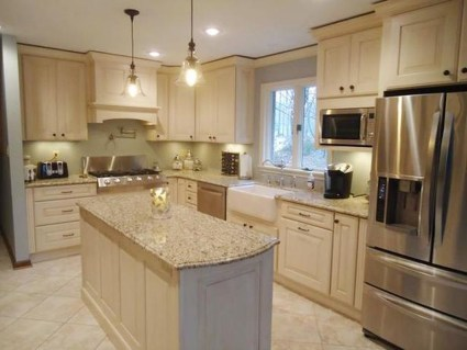 Totally Outstanding Traditional Kitchen Decoration Ideas 43