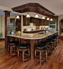 Totally Outstanding Traditional Kitchen Decoration Ideas 46