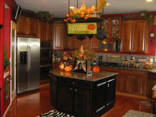 Totally Outstanding Traditional Kitchen Decoration Ideas 58
