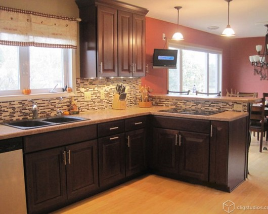 Totally Outstanding Traditional Kitchen Decoration Ideas 75