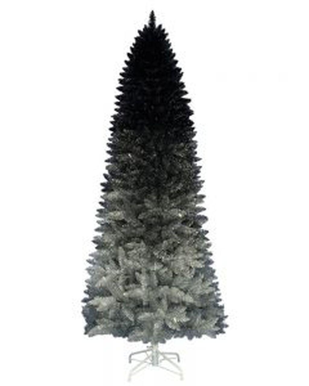 Unique And Unusual Black Christmas Tree Decoration Ideas 19