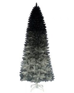 Unique And Unusual Black Christmas Tree Decoration Ideas 19
