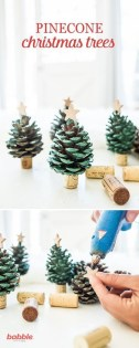 36 Brilliant Ideas How To Use Pinecone For Indoor Christmas Decoration 05
